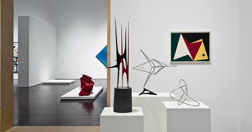 Installation view of Latin American Art galleries | Courtesy of the Blanton Museum of Art, The University of Texas at Austin