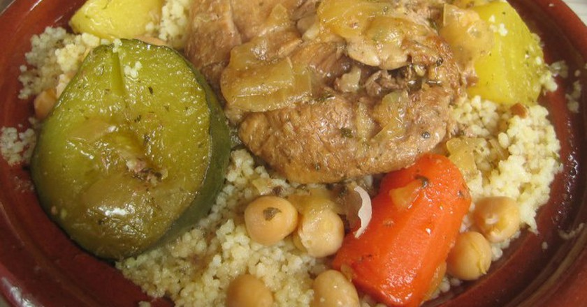 Couscous with meat and vegetables | © Roland Tanglao