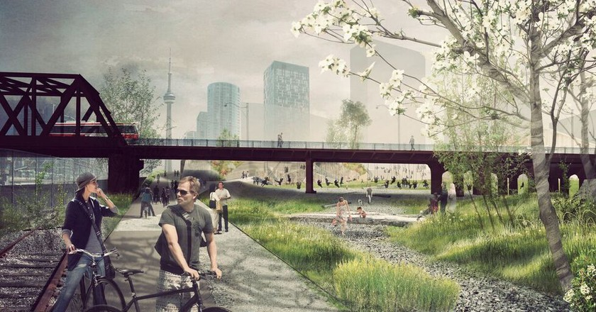 The layout for the new park | © PUBLIC WORK