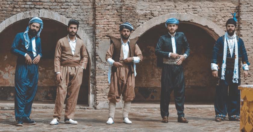 Mr.Erbil wearing Kurdish traditional clothes in the Citadel © goran.photography