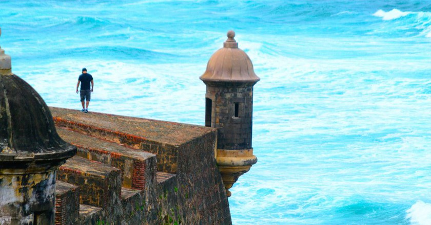 Part of a fortification in San Juan, Puerto Rico | © Arnob Alam / Flickr