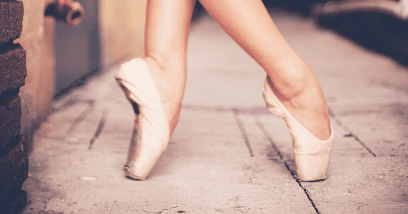 Kelsey Glennon Pointe Shoes | Credit Cory Callahan Photography