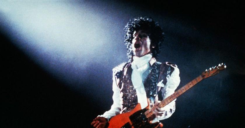 Prince in Purple Rain   © Warner Bros/REX/Shutterstock