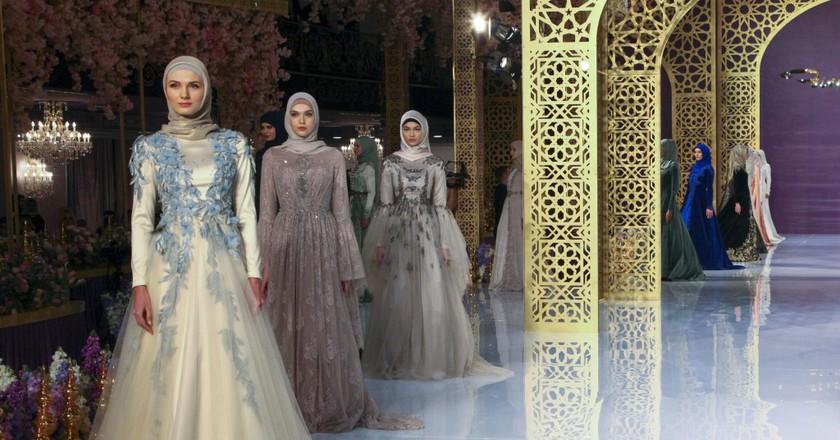 Russia Chechen Fashion Show, Grozny, Russian Federation - 01 Mar 2017| © AP/REX/Shutterstock