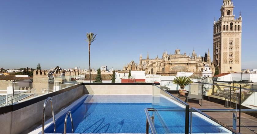 Roof terrace, Hotel Casa 1800 | Courtesy of Hotel Casa 1800