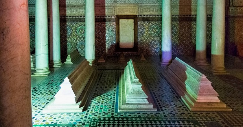 Inside the Saadian Tombs, Marrakesh | © Dan Lundburg / Flickr