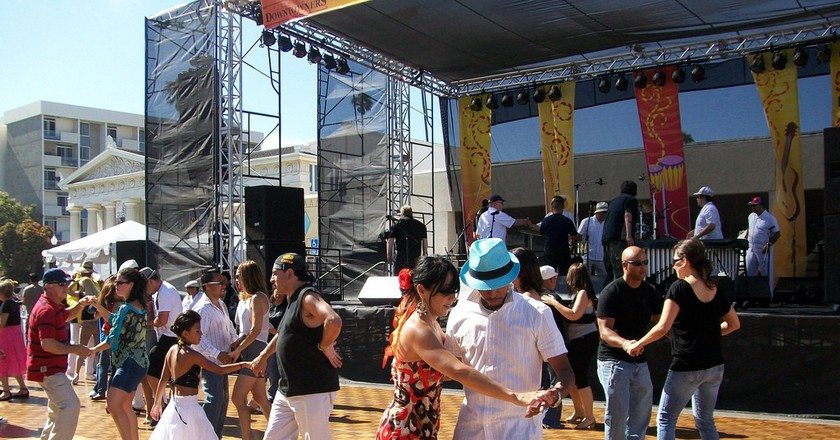 Salsa dancing at a salsa festival | © Clotee Pridgen Allochuku/ Flickr