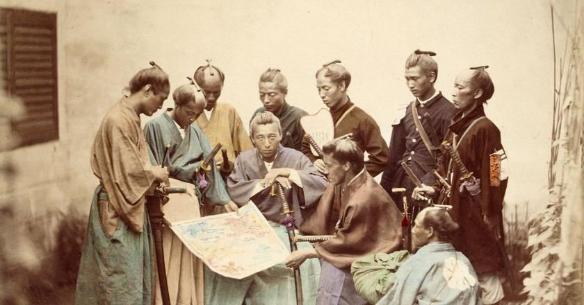 Samurai of the Chosyu clan, during the Boshin War period | ©フェリーチェ・ベアト / Wikipedia