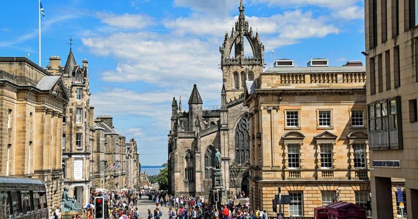 Royal Mile In Edinburgh | © Pixabay