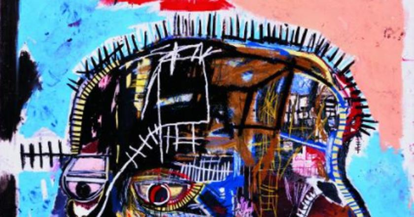 Jean-Michel Basquiat, Untitled, 1981, acrylic and oilstick on canvas, 81 x 69 1/4 in., © The Estate of Jean-Michel Basquiat / ADAGP, Paris / ARS New York 2015, Photo by Douglas M. Parker Studio, L.A.
