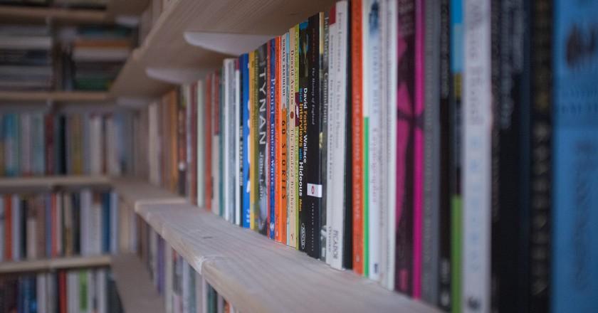 Shelves full of books   © Andy Lamb/ Flickr
