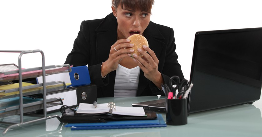 13 of the Saddest Desk Lunches You've Ever Seen