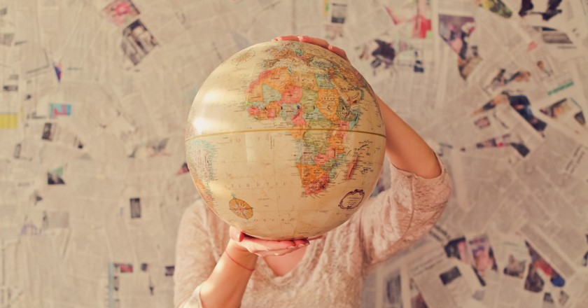 Globe | © Slava Bowman / Unsplash