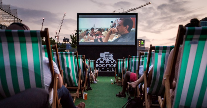 Stratford's Roof East | Courtesy of Rooftop Film Club
