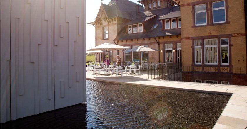 Wasserkunst Elbinsel Kaltehofe house Hamburg| Courtesy of Stiftung Wasserkunst Elbinsel Kaltehofe