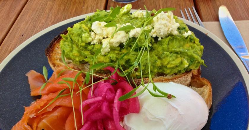 Avocado on toast |© Katherine Lim/Flickr