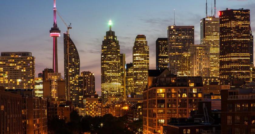 Toronto at twilight   © Rick Harris / Flickr