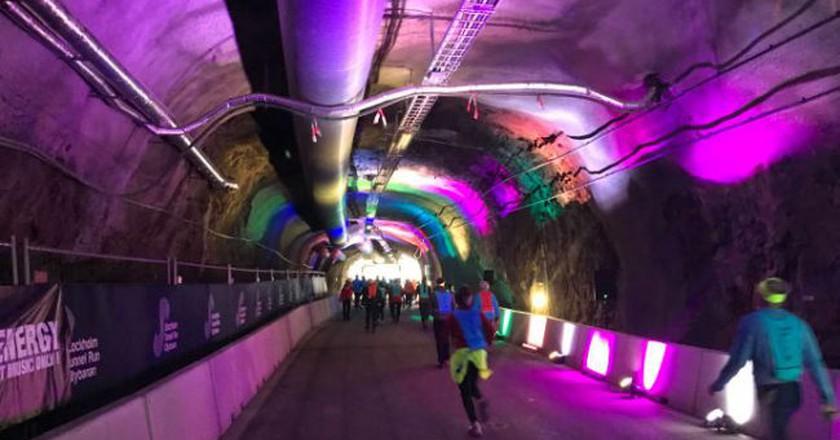 Stockholm's TunnelRun   © Niklas/Courtesy of LidingöLoppet