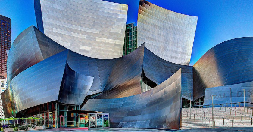 The Walt Disney Concert Hall in downtown Los Angeles|©Scott Taylor/Flickr