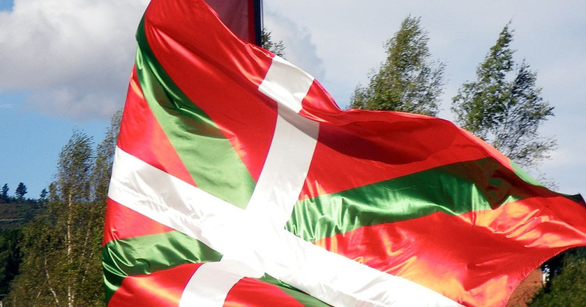 Basque flag | © Etxaburu / WikiCommons