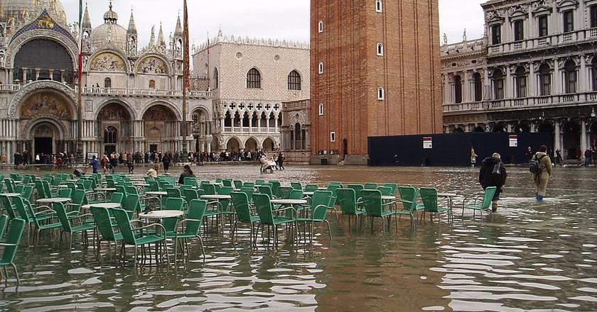 Acqua Alta in San Marco   Moroder/WikiCommons