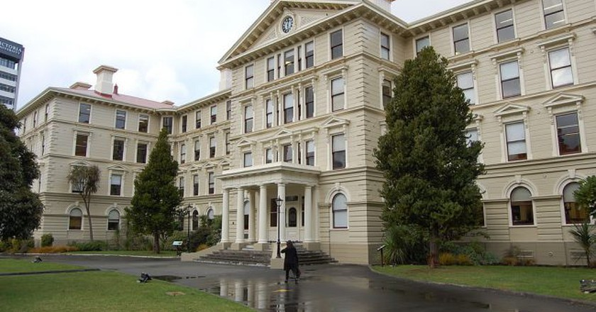 Old Goverment Buildings, Wellington | © Wikimedia Commons