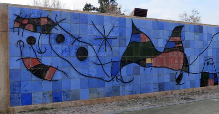 Miró mural | © MollySVH/Flickr