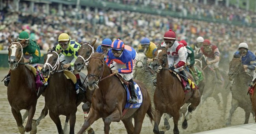 Running of the Kentucky Derby | © Flickr/Tauck