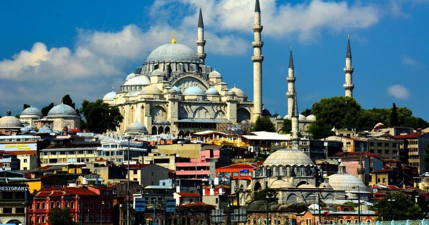 Sulaymaniyah Mosque, Istanbul Turkey | © Harold Litwiler / Flickr