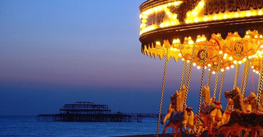 Brighton Seafront | © Dominic Alves/Flickr