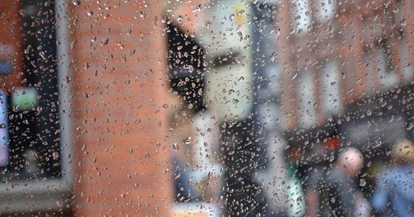 Rain on a Dublin window   © Amanda N Sherrington/Flickr