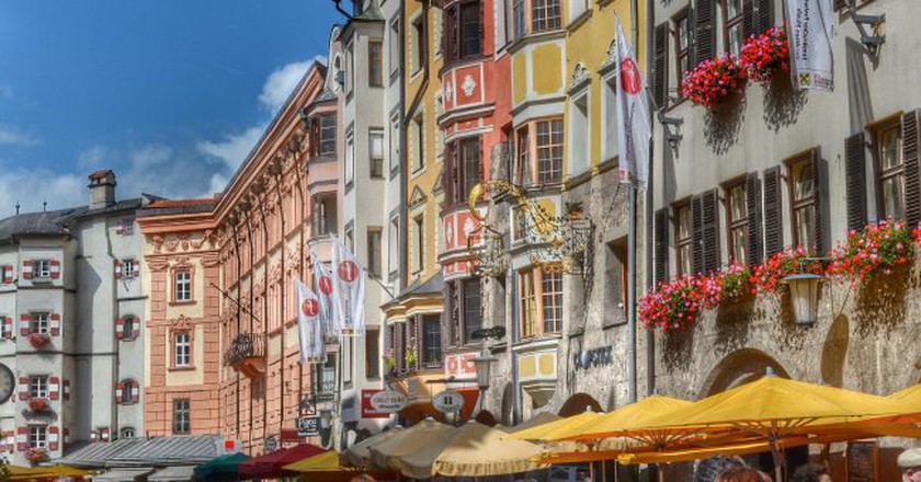 "<a href = ""https://www.flickr.com/photos/philiproeland/15142546661/in/gallery-gordon_wong-72157658425716200/""> Austria - Innsbruck   © Philip Roeland/Flickr"