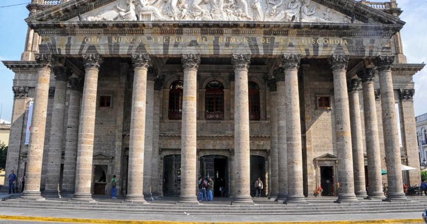 Teatro Degollado / Andres Alvarado / Flickr