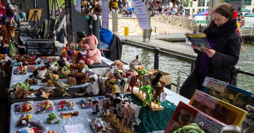 Harbourside market   © The Pizza Bike/ Flickr