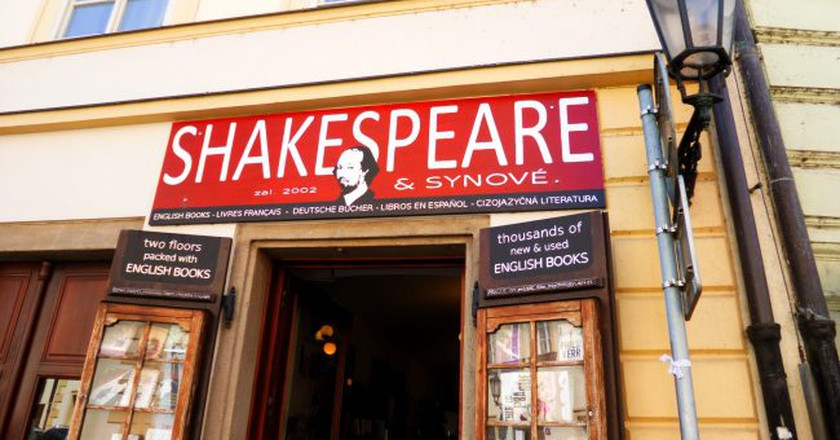 Shakespeare & Sons bookstore in Prague | ©Klaudyna / Flickr