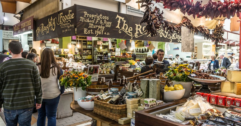 "<a href=""https://www.flickr.com/photos/infomatique/19978118766"">The English Market | © William Murphy / Flickr</a>"