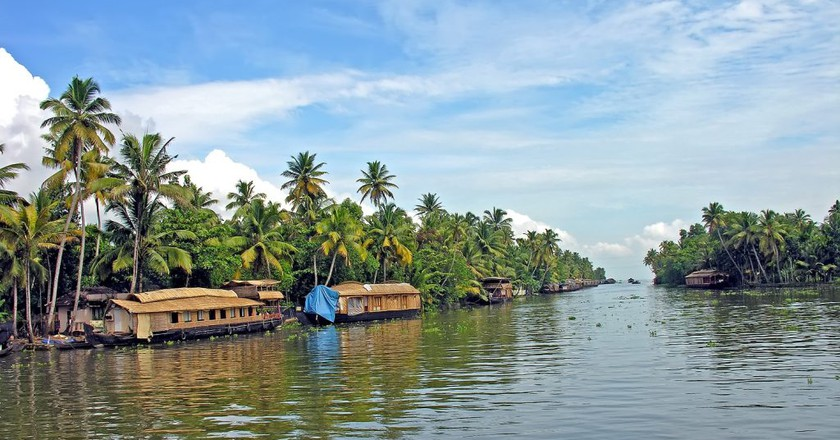 Kerala's backwaters | © Dennis Jarvis/Flickr