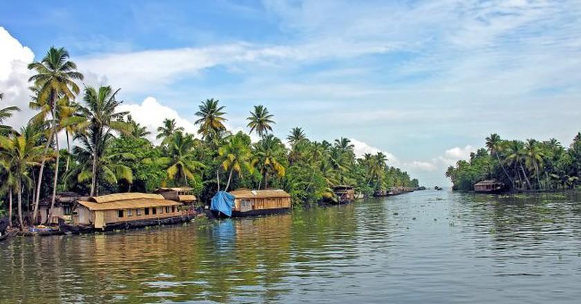 Kerala's backwaters | © Dennis Jarvis/Flickr