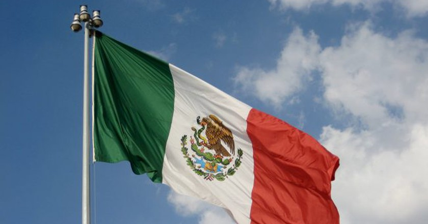 Flag of Mexico |  © Jorge Mendoza-Torres / Flickr