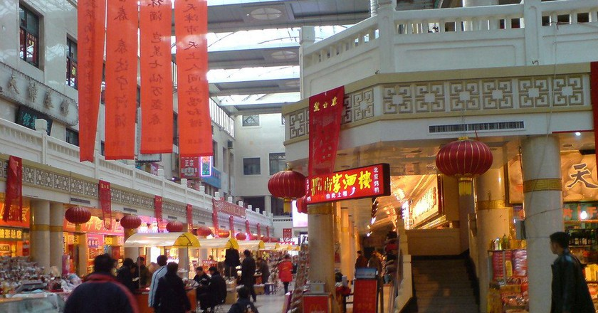 "<a href""https://www.flickr.com/photos/beartrax/25023778832"">Food Street in Tianjin 