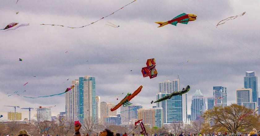 Austin Kite Festival | © Gee Jay / Flickr