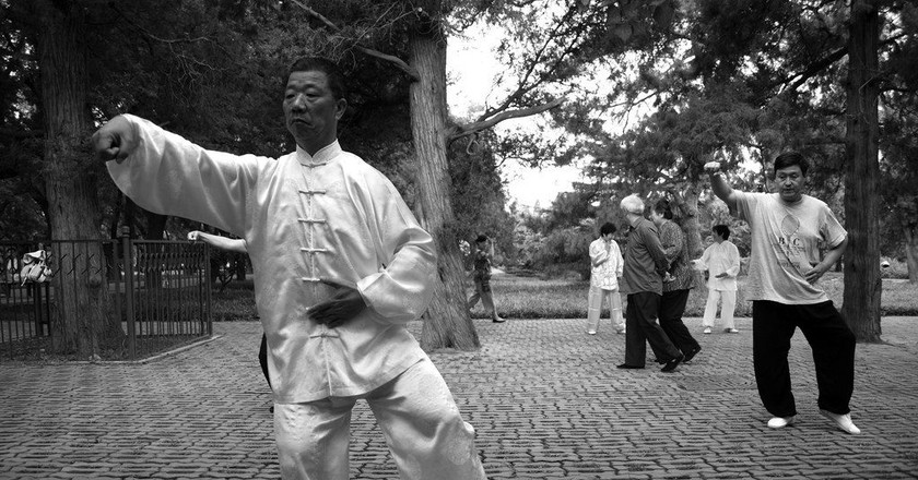 Tai Chi'ing it | © Edwin Lee