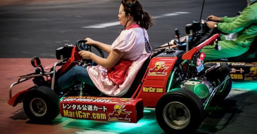 'Mario Kart' in the Streets of Tokyo   © Alexander Svensson/Flickr