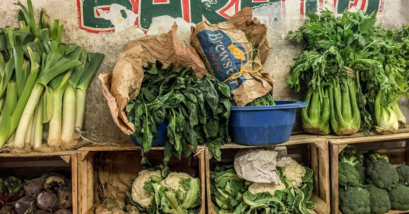 Vegetables at a Mayan market   © barbbarbbarb/Flickr