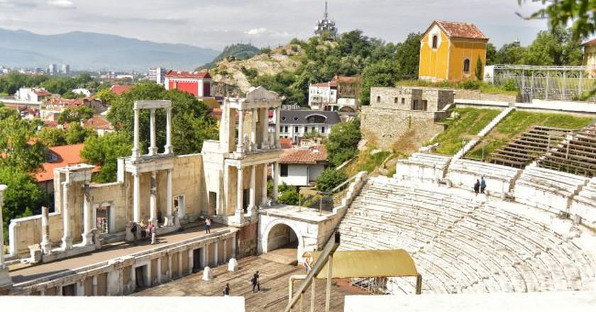 Plovdiv's Ancient Theater | © María Renée Batlle Castillo/Flickr