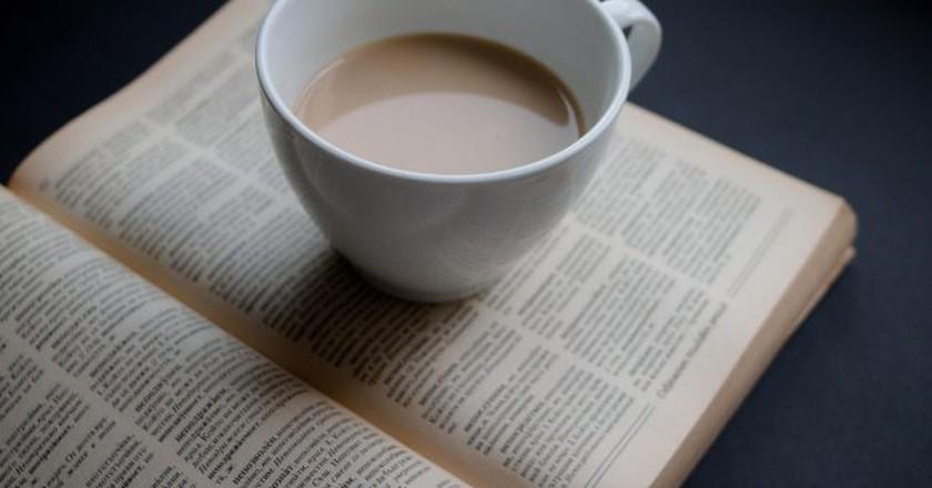 """<a href""""https://www.flickr.com/photos/30478819@N08/33396455176""""> Coffee & Book © Marco Verch/Flickr</a>"""