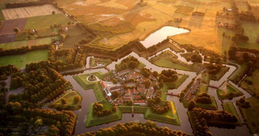 Fort Bourtange from the air   © quiquefepe / Flickr