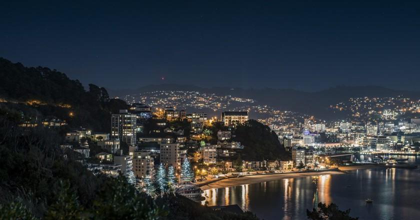 Wellington At Night | © Simeon W/Flickr
