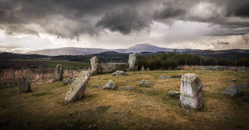 Tomnaverie Stone Circle, Donside   © Neil Williamson/Flickr