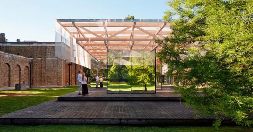IF_DO Dulwich Pavilion | Photo:Joakim Borén
